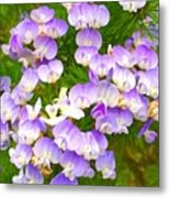 Lovely #purple #flowers Beg Your Metal Print