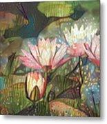 Lovely Waterlilies 7 Metal Print