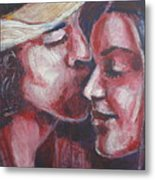 Lovers - Amore Metal Print