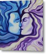 Lovers In Eternal Kiss Metal Print