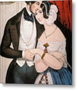 Lovers Reconciliation Metal Print