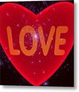 Loving Heart Metal Print