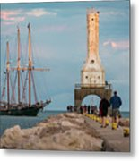 Loving Port Metal Print