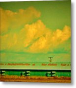 Low And Low Green Building Metal Print