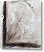 Low Cool Abstract Painting Metal Print