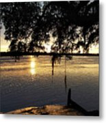 Low Country Sunset Metal Print