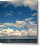 Low Hanging Clouds Metal Print