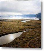Low Water Metal Print