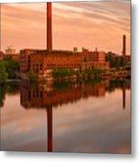 Lowell Skyline  Metal Print