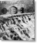 Lower Buckeye Falls Metal Print