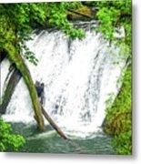 Lower Falls 4 Metal Print