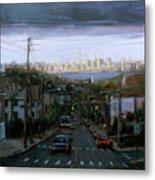 Lower Manhattan 2002 Metal Print