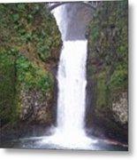 Lower Multnomah Falls Metal Print