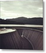 Lower Nihotipu Dam Metal Print