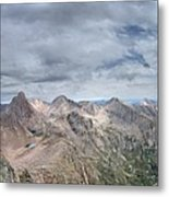 Lower North Eolus From The Catwalk - Chicago Basin - Weminuche Wilderness - Colorado Metal Print