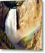 Lower Rainbow Of Colors Metal Print