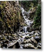 Lower Reid Falls Metal Print