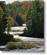 Lower Tahquamenon Falls  4349 Metal Print