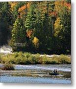 Lower Tahquamenon Falls  4351 Metal Print