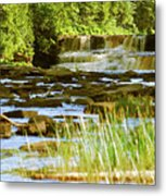 Lower Tahquamenon Falls 6128 Metal Print