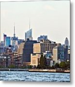 Lower West Side On The Waterfront Metal Print