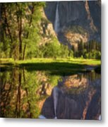 Lower Yosemite Morning Metal Print