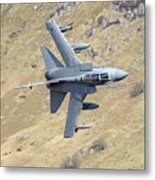 Lowflying Tornado In The Welsh Hills 01 Metal Print by Barry Culling
