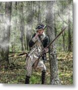 Loyalist Skirmisher  American Revolution Metal Print by Randy Steele