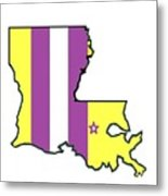 Lsu Louisiana Metal Print