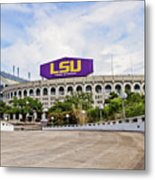 Lsu Tiger Stadium Metal Print