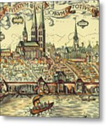 Lubeck, Germany Metal Print