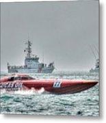 Lucas Oil Superboat Race Metal Print