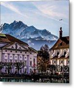 Lucerne's Architecture Metal Print