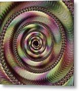 Lucid Hypnosis Abstract Wall Art Metal Print