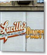 Lucille's Metal Print