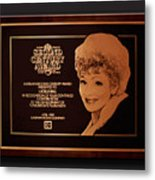 Lucy Sca Plaque  Metal Print