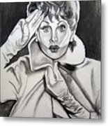 Lucy Metal Print by Toni  Thorne