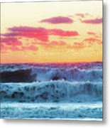 Lucy Vincent Surf Metal Print