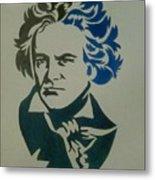 Ludwig Van Beethoven Metal Print