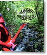 Lukas By The Creek 2 Metal Print