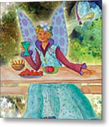 Lulu Beth Twinkle At The Banquet Metal Print