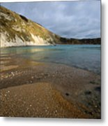 Lulworth Cove Metal Print