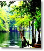 Lumber River Metal Print