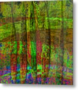 Luminous Landscape Abstract Metal Print