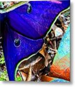 Luna Moth False Color Work One Metal Print