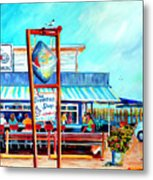 Lunch At The Clam Bar Metal Print
