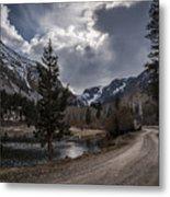 Lundy Lake Road Metal Print
