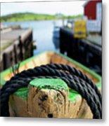 Lunenburg - Nova Scotia Metal Print