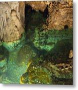 Luray Caverns - Wishing Well - Virginia Metal Print