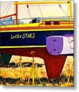 Lure Of The Sea Metal Print